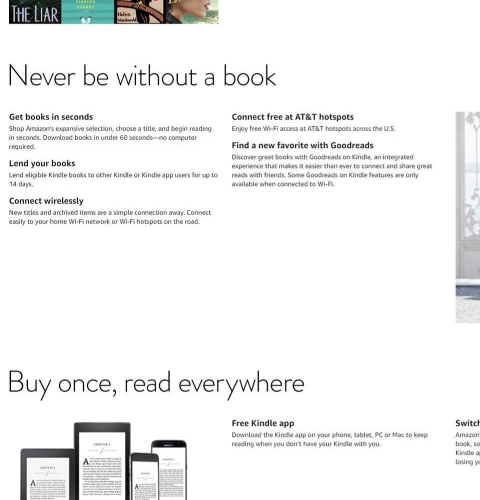 Amazon 7th Gen Kindle Paperwhite Wifi E-Reader 300PPI Display (Black)