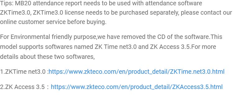 Zkteco Software