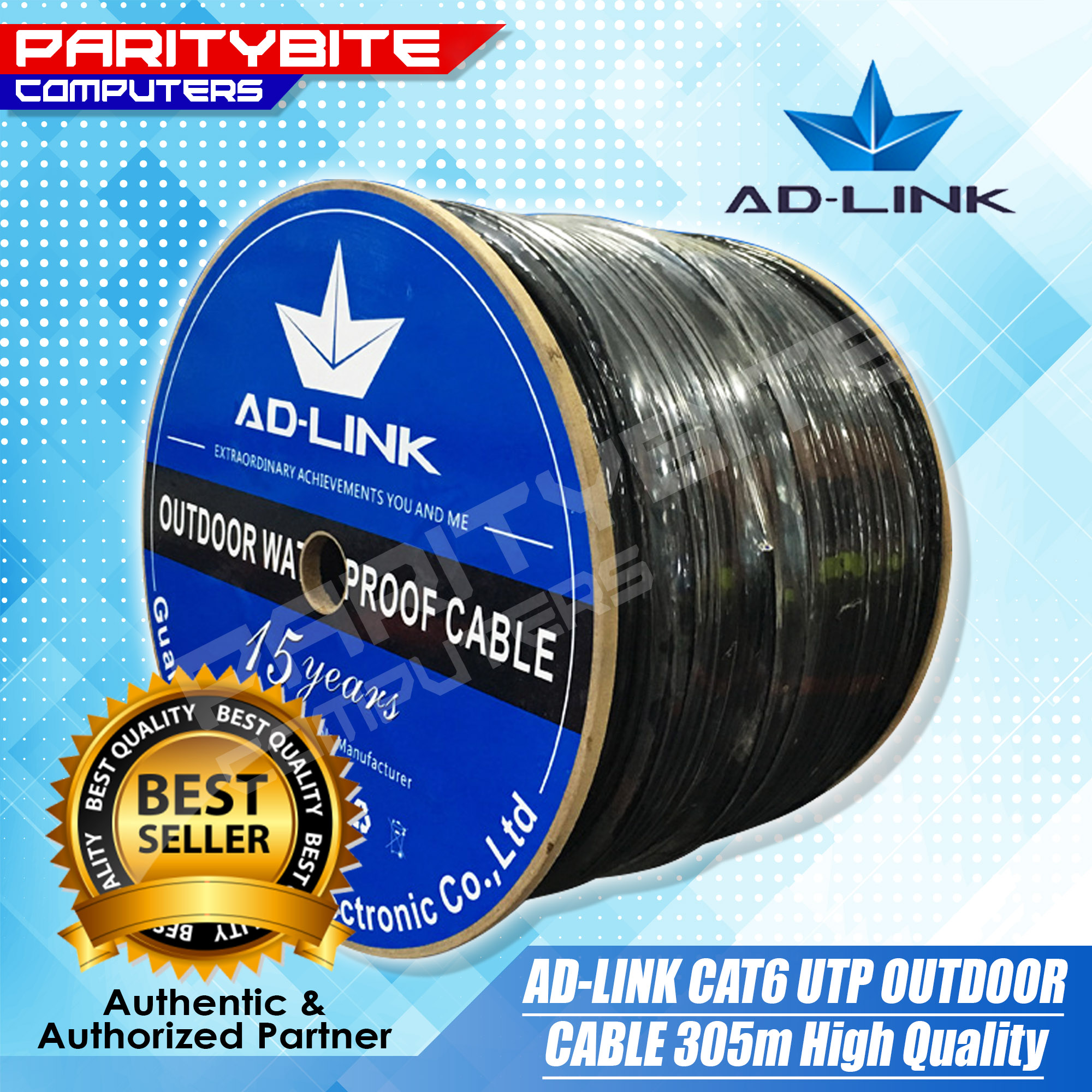 Ad-link CAT6 Outdoor UTP Cable 305M High Quality