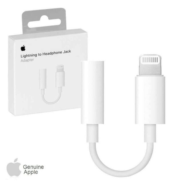 promo code 5f1ad 53edb Original Apple Earphone/Headphone Converter/Adapter Cable Headset Connector  Phone Cord Line For Apple Iphone 7/Iphone7Plus iPhone 6//6s iPhone X, ...