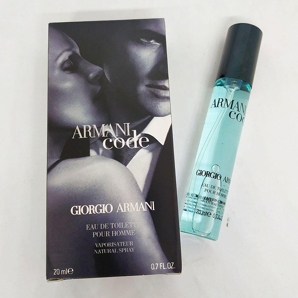 560bbf7a Armani Code Giorgio Armani Cologne Spray For Men Pour Homme 20ml