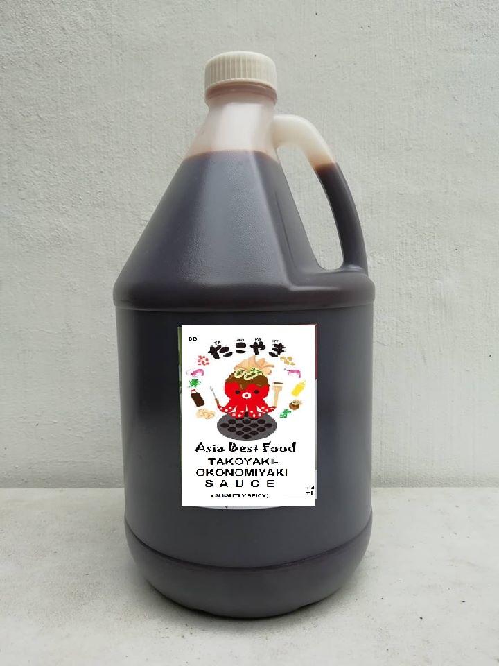 Abf Takoyaki Okonomiyaki Tonkatsu Sauce 3 7liters Mildy Spicy Lazada Ph