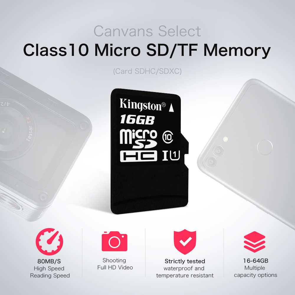 Micro Sd Karte 64gb Test.Kingston Memory Card 32gb Class10 Flash Sd Tf Card With Sd Adapter Free Led Watch Pink