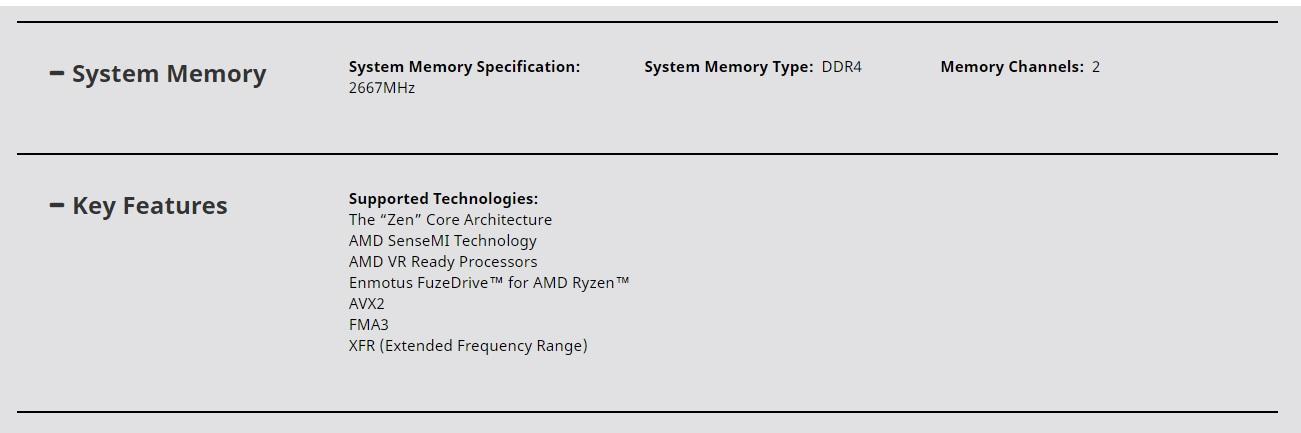 AMD Ryzen -YD1200BBAEBOX 7th Generation AMD Ryzen 3 1200 Quad-Core