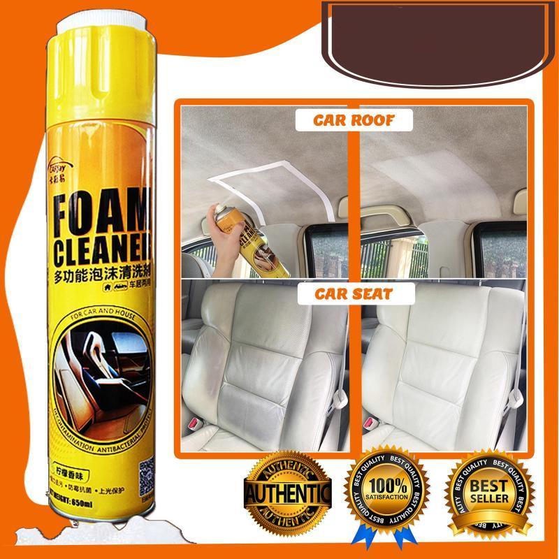 Foam Cleaner Spray Multipurpose Exterior Fabric Seats Car Doors ...