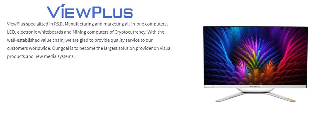 ViewPlus Desktop Intel i3-7100 All in One PC/Computer 21 5