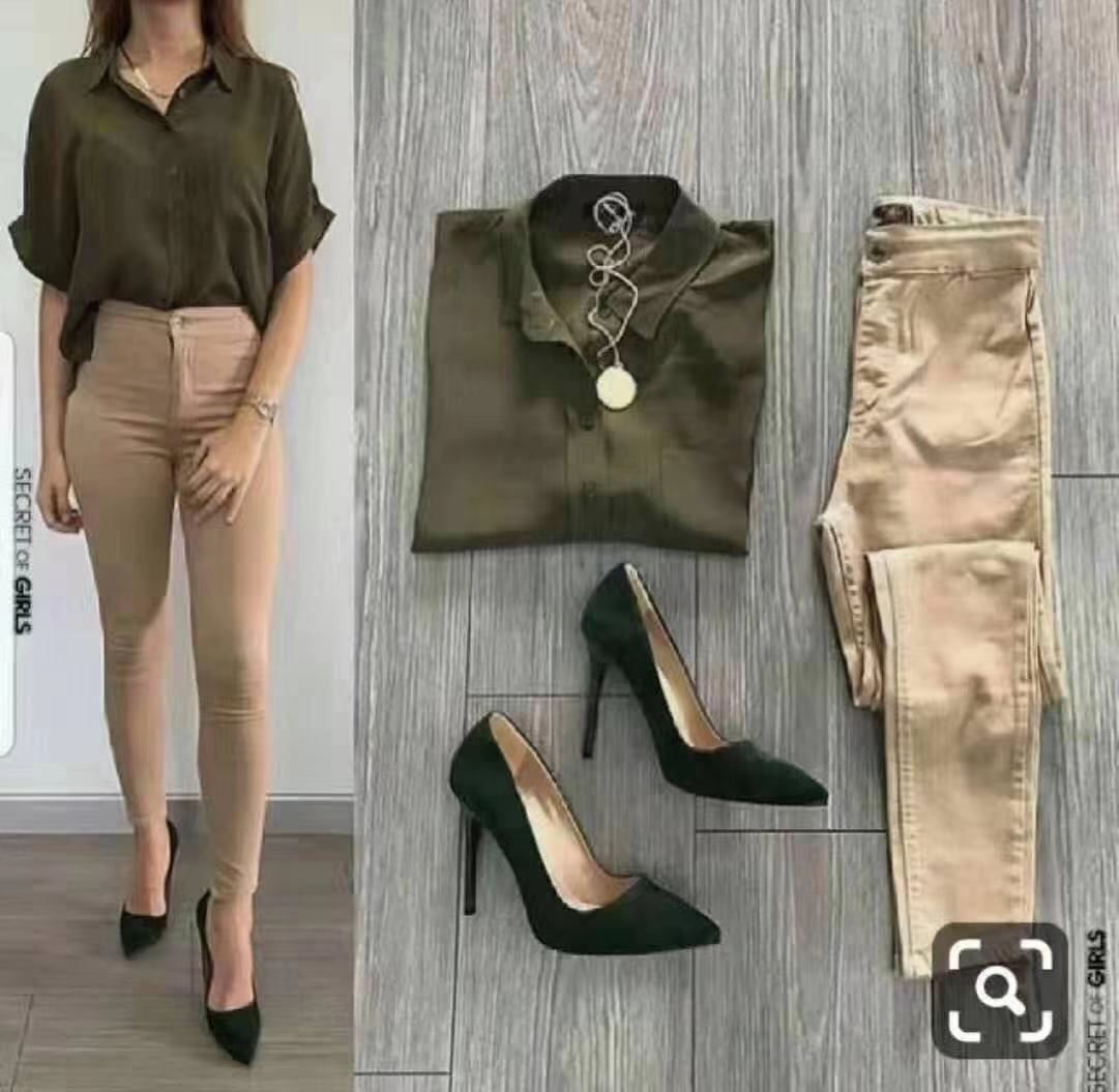Smart casual pants outfit (terno for