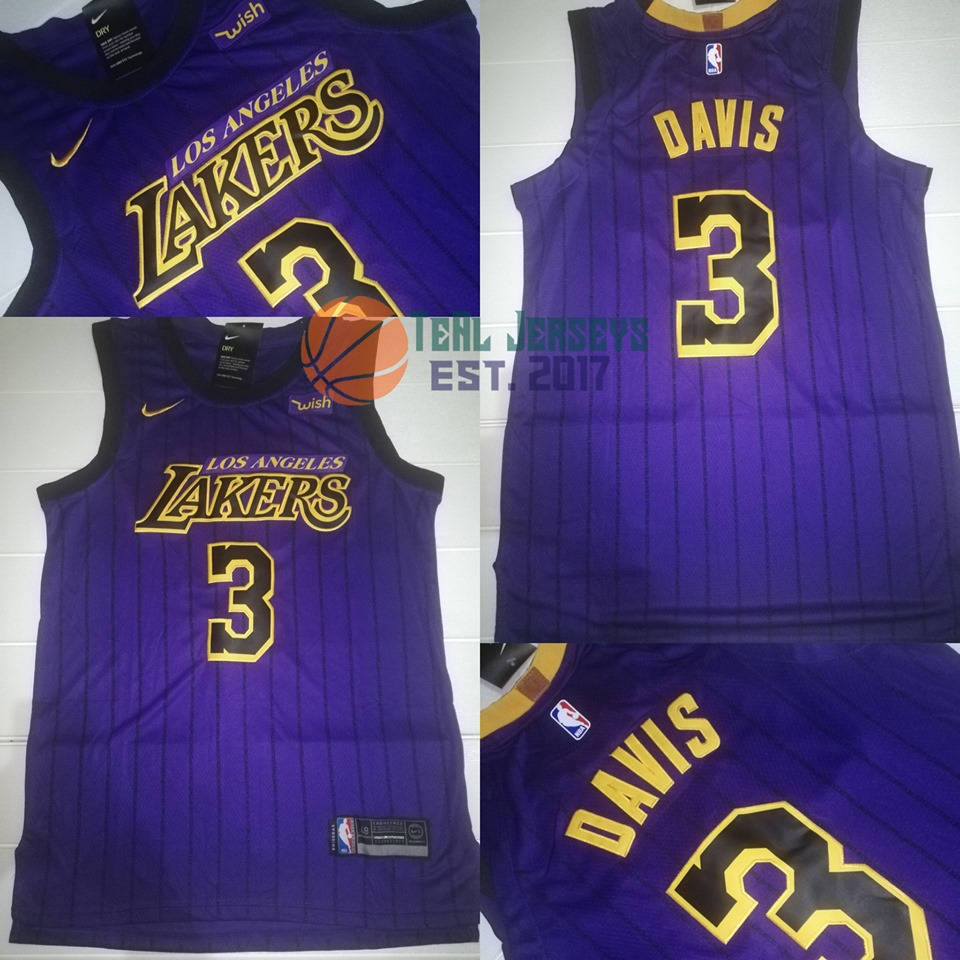 new product 385cf f1fe7 Anthony Davis L.A Lakers NBA Jersey