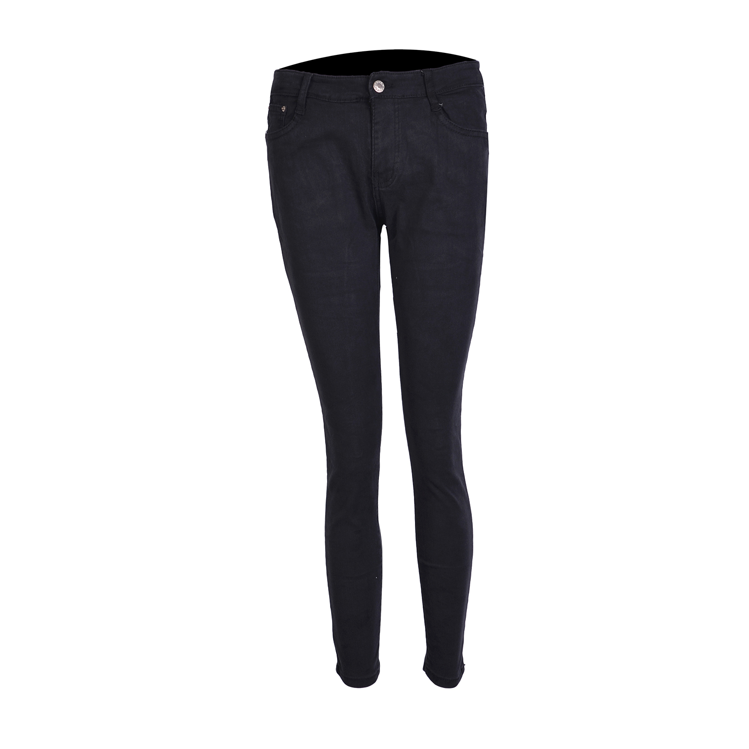 Ladies Women Plain Black Skinny Jeans Pants For Her Stretchable Lazada Ph