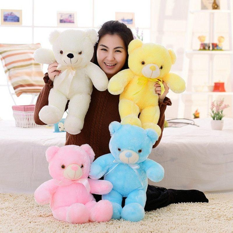 Cute Lamb Stuffed Animals, Leddy The Amazing Led Teddy Bear 50cm Lazada Ph