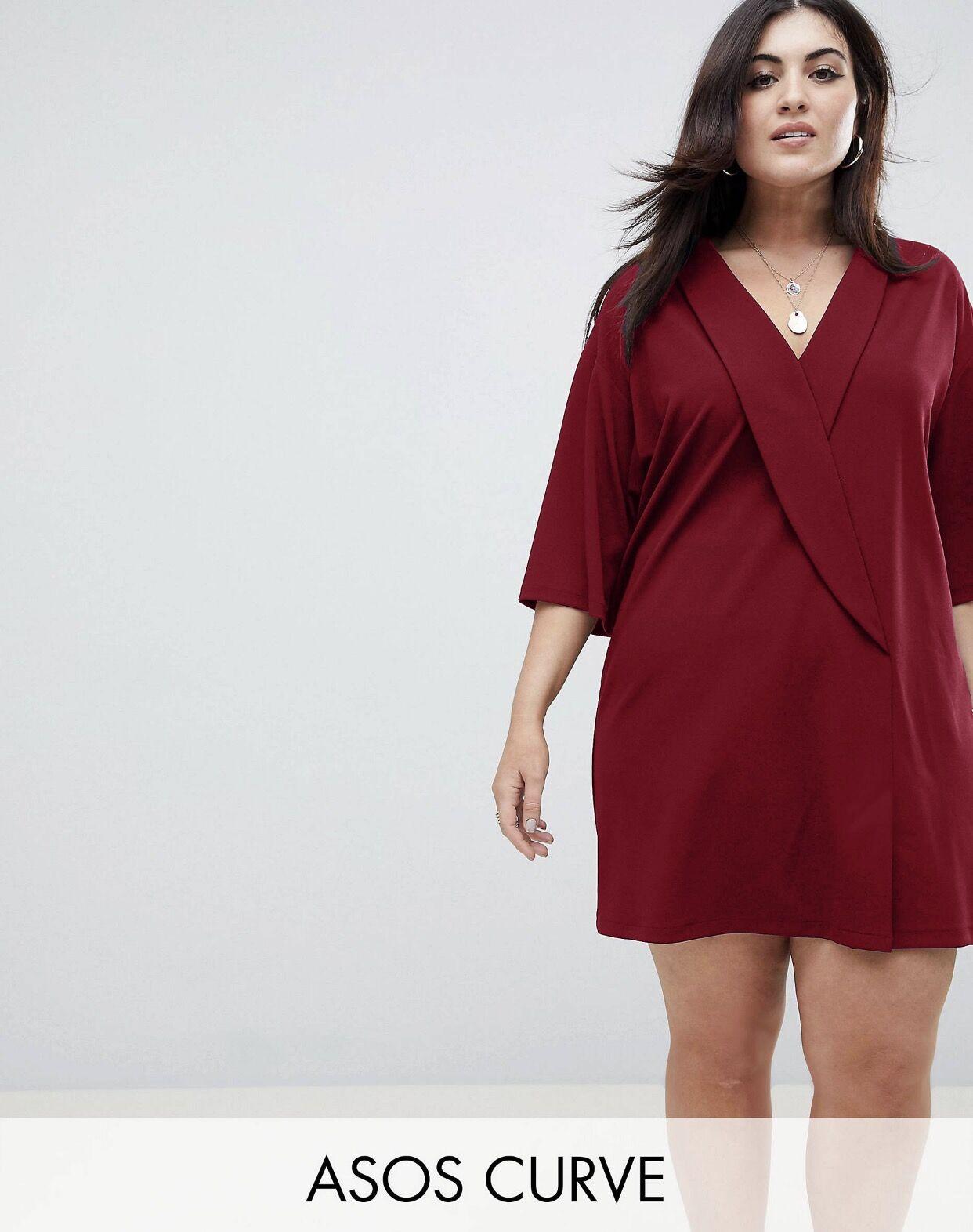 #A1943 Plus Size Blazer Dress L XL (XXL)