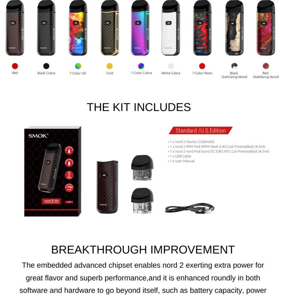 SMOK Nord 2 Kit Best Kit