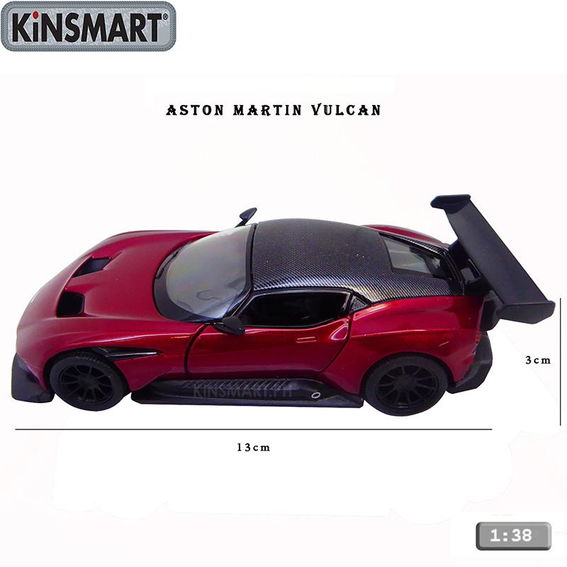 Kinsmart 1 38 Aston Martin Vulcan Diecast Collectible Model Toy Car Ric 17645 Raion Lazada Ph