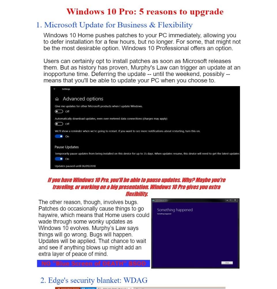 Microsoft Windows 10 Pro Serial / License with Installer (32/64 bit)