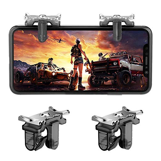 PUBG Trigger Mobile Controller - Fortnite PUBG Mobile Trigger, L1R1 Shooter  Trigger Buttons for PUBG/Fortnite/ Rules of Survival for Android & iPhone