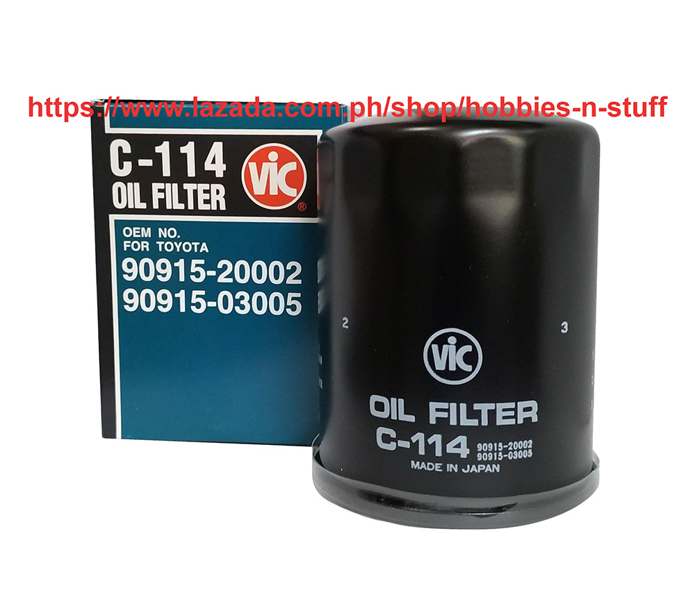 Vic Oil Filter C 114 For Ford Ecosport 2012 To Present Ford