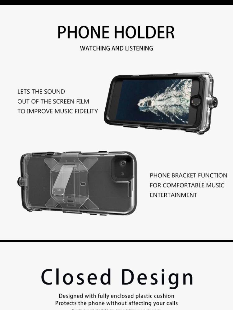Tylex K206 Heavy-Duty Waterproof Full Body Case Cover For iPhone 6 Plus/ iPhone