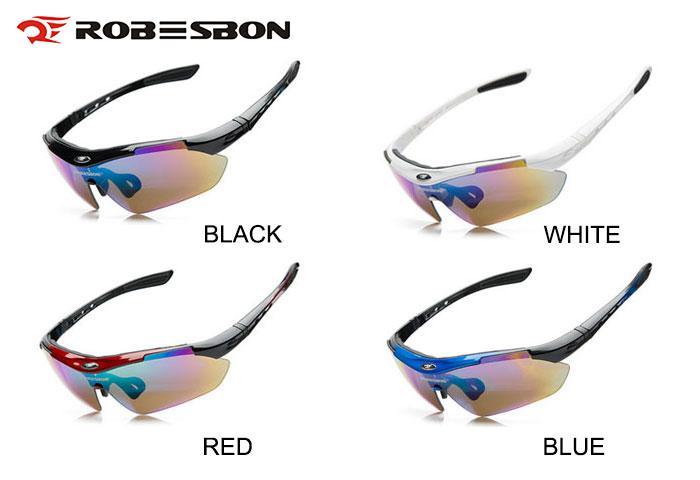 FreeBee Cycling Sunglasses Bike Goggles Set w//Interchangeable Lens UV protection
