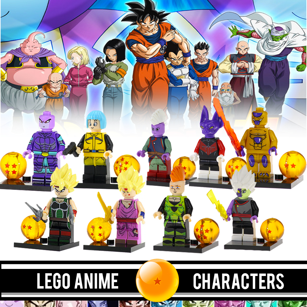 Specifications of anime characters building blocks for children toys and collectibles best for birthday gifts for kids