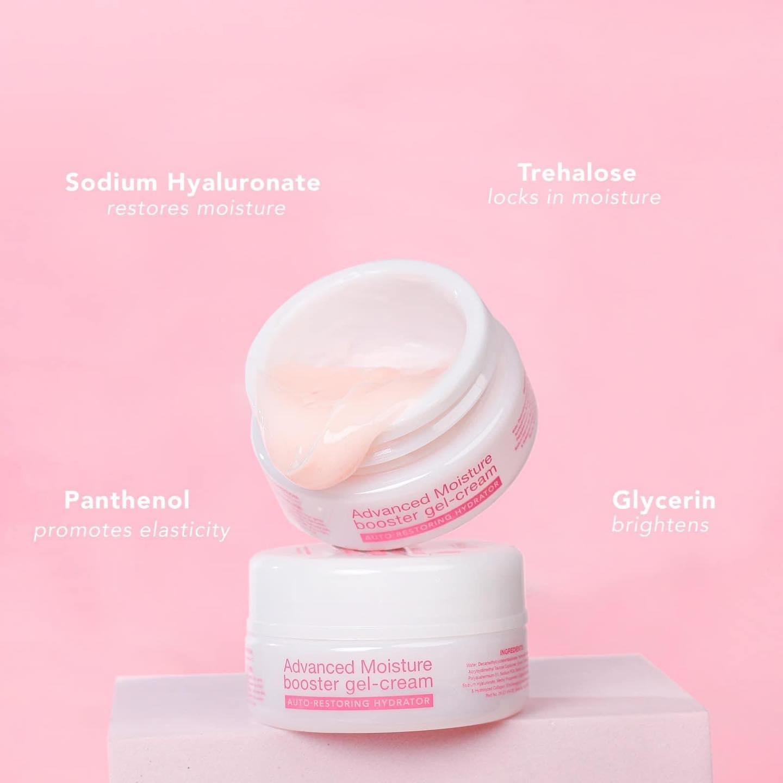 Advanced moisture booster gel-cream