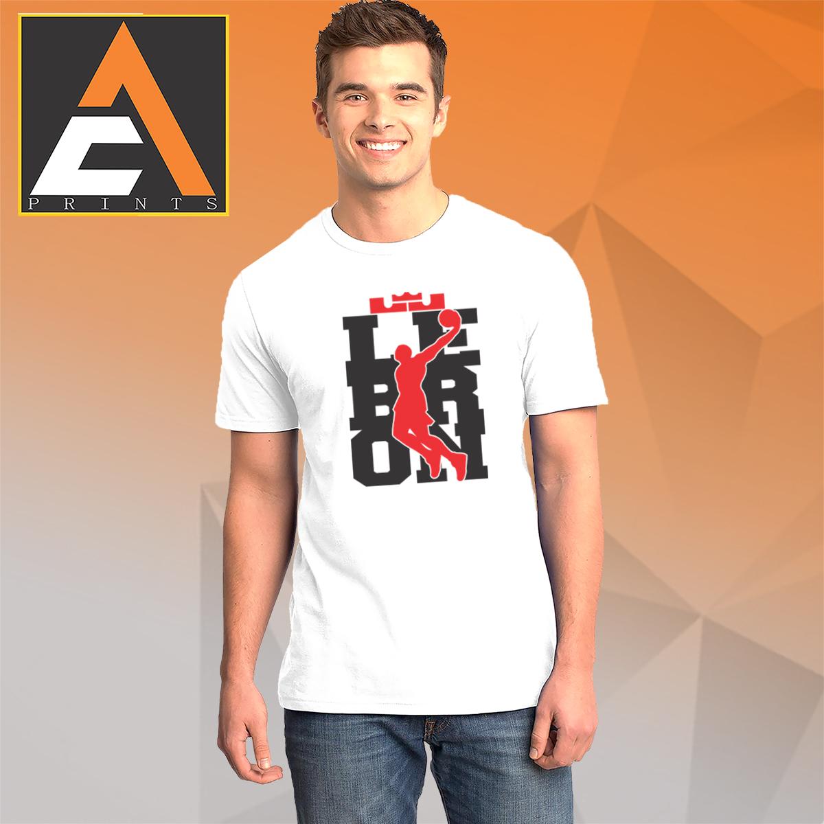 lowest price bca84 1c425 LEBRON JAMES t shirt Basketball tshirt Basketball shirt Shirt  Unisex(Men/Women)(Male/Female)(Gildan) T-shirts Tees T shirts Tshirts ...