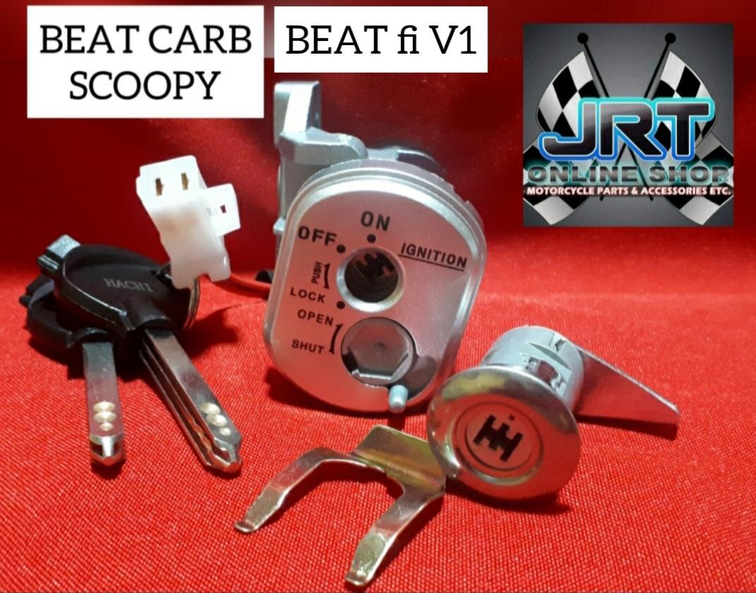 Honda Beat Fi V1 Anti Theft Ignition Key Lazada Ph