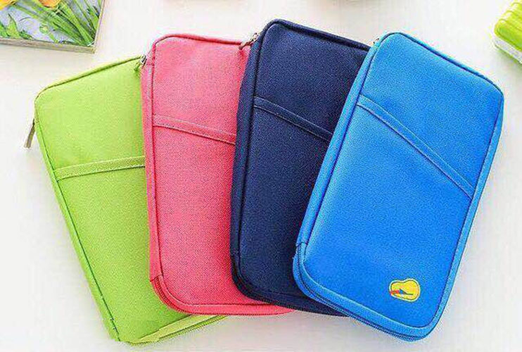 7745370bb567 Travel Passport Credit ID card Cash Passport Holder Wallet Organiser