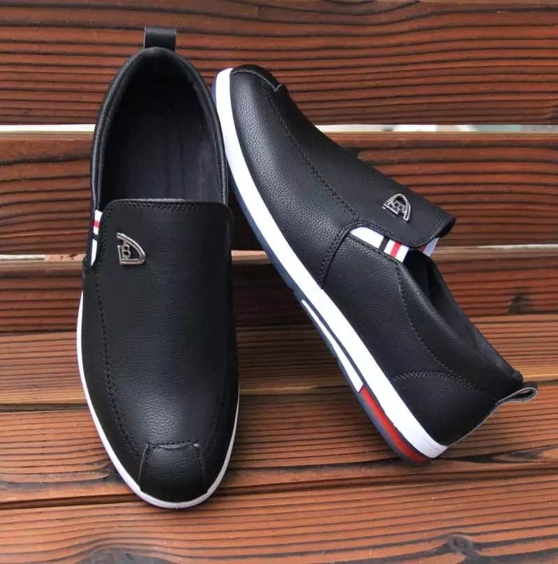Scato Fashion Korean Style Plain Black