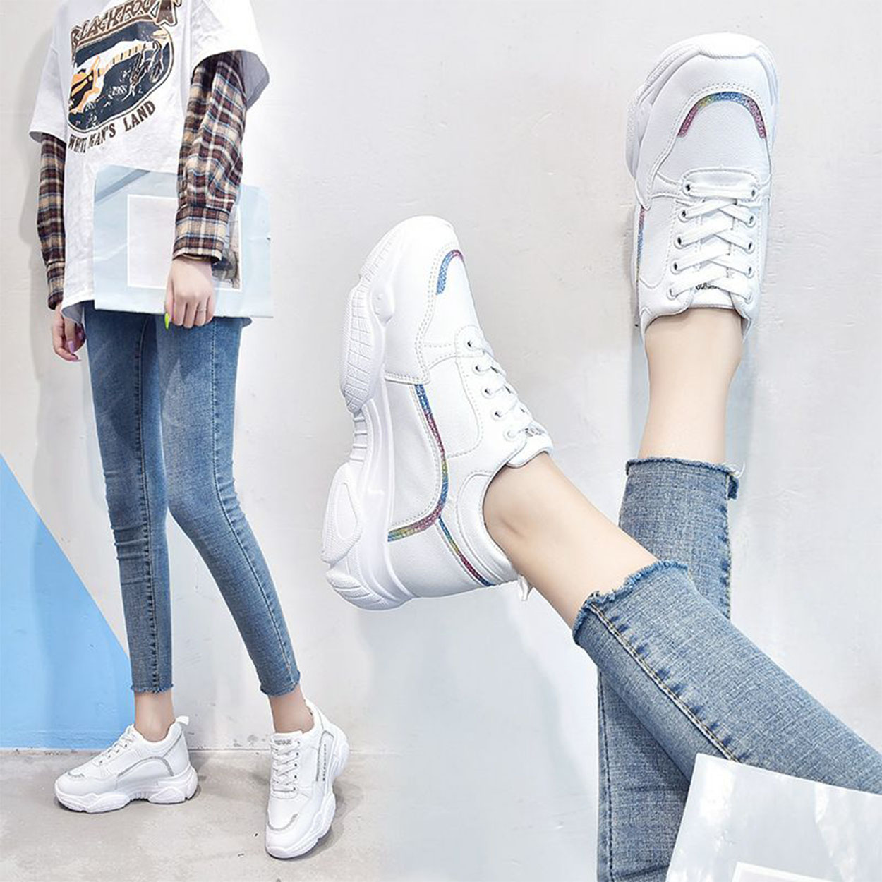 Image result for korean Chunky Sneakers