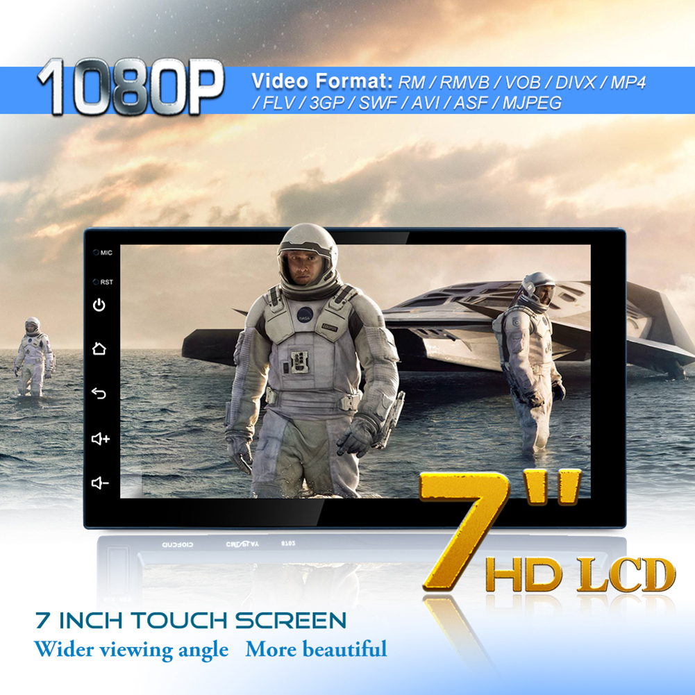 7in 2Din Android 8 1 Car Stereo MP5 Player GPS Navi AM FM Radio WiFi BT4 0