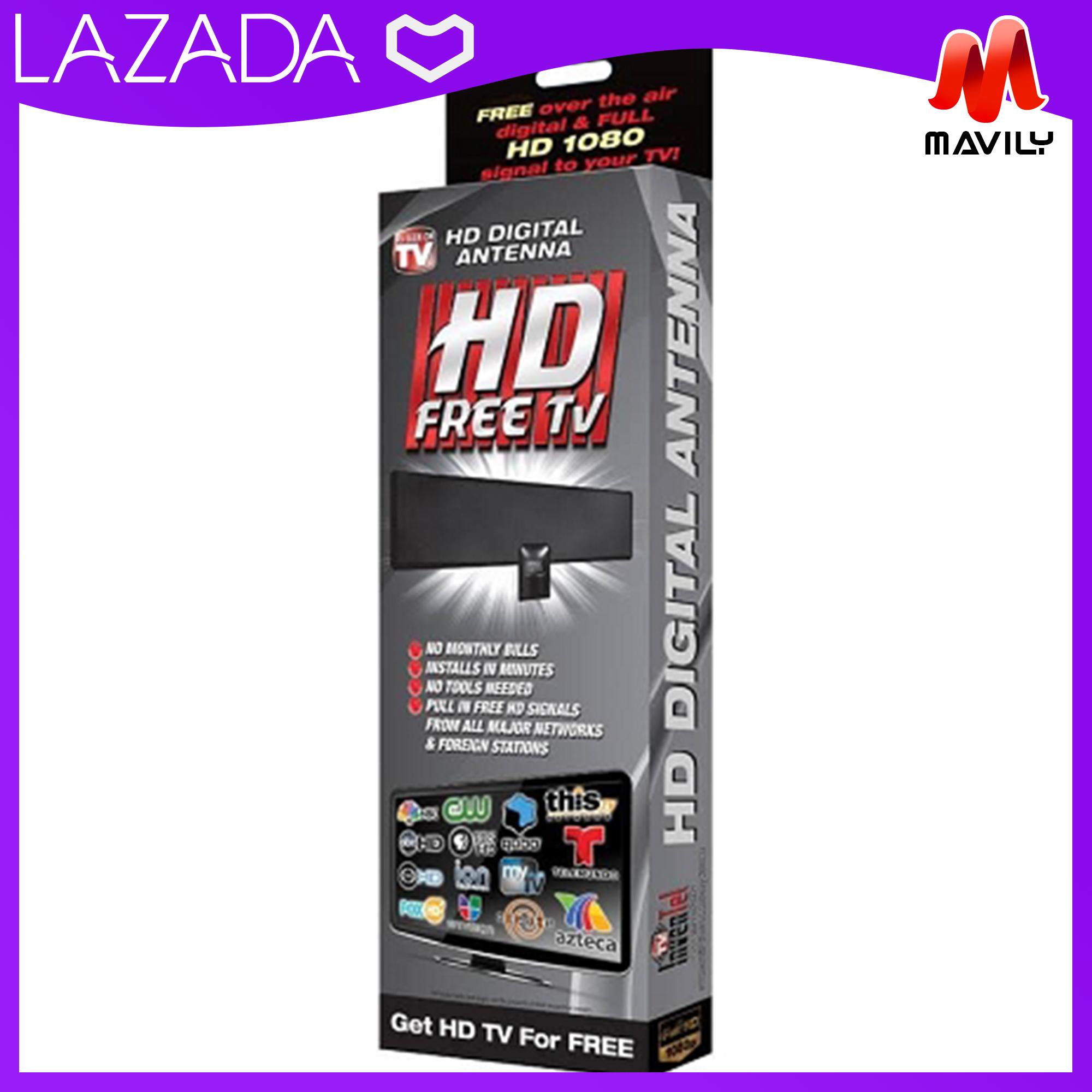 HD 1080p Digital Free TV Antenna