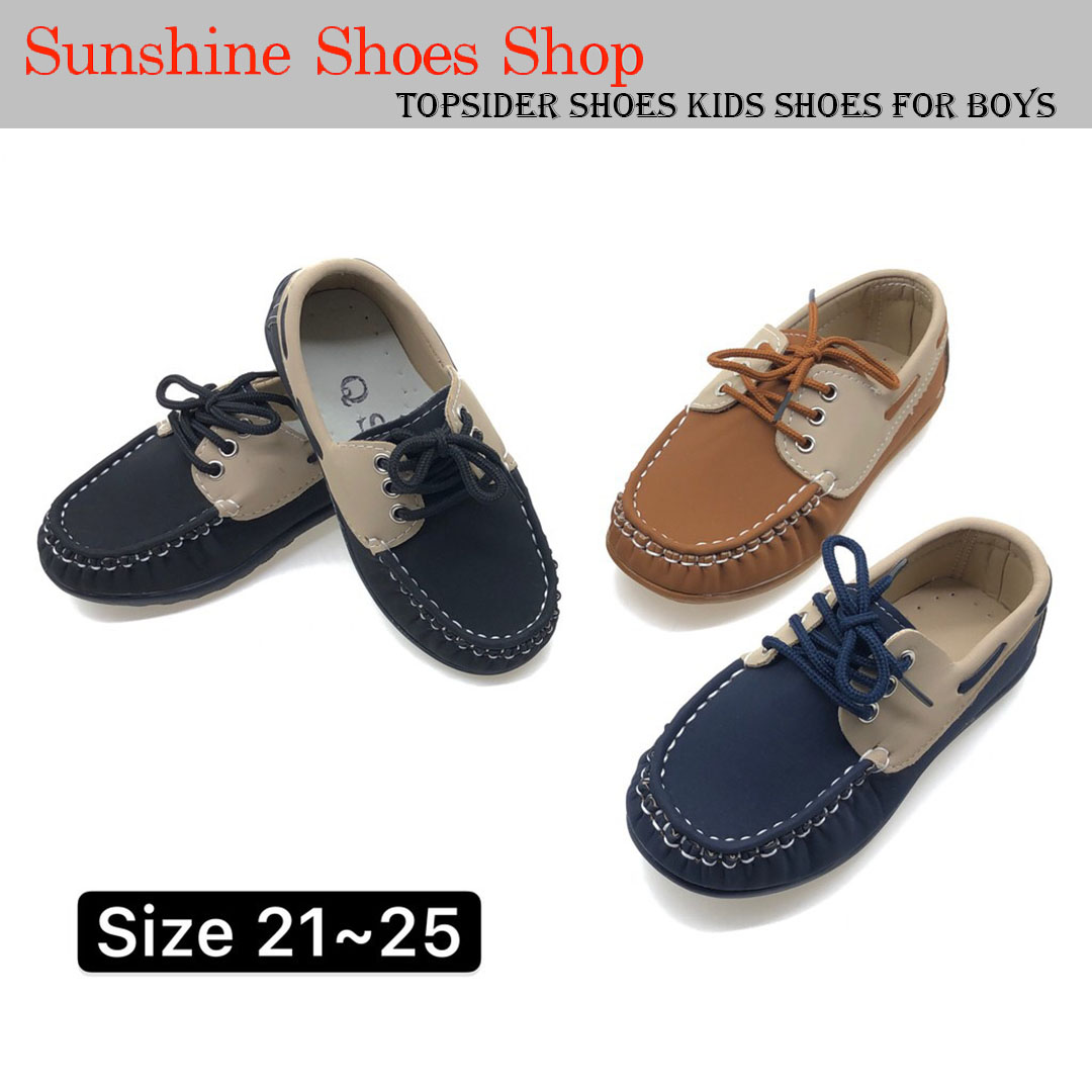 ca2218041a P885 Topsider Shoes Kids Shoes For Boys