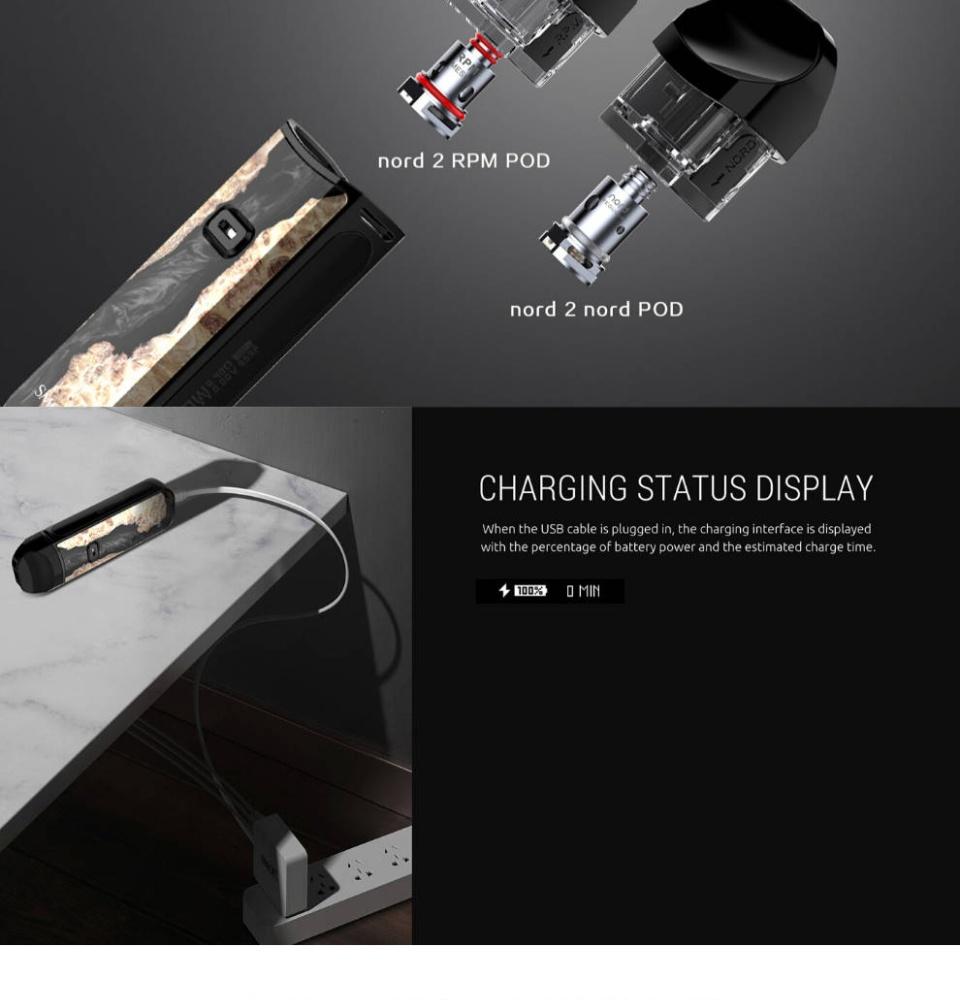 SMOK Nord 2 Kit authentic vaporizer