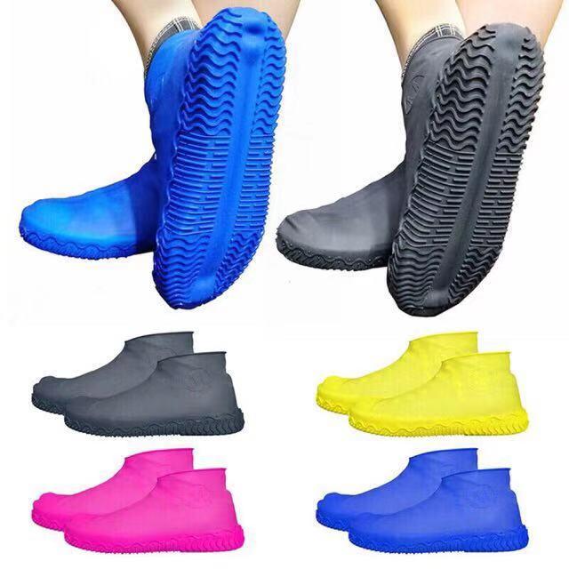 Unisex Reusable Rain Snow Shoes Cover Waterproof Overshoes Boot Anti-Slip Gears