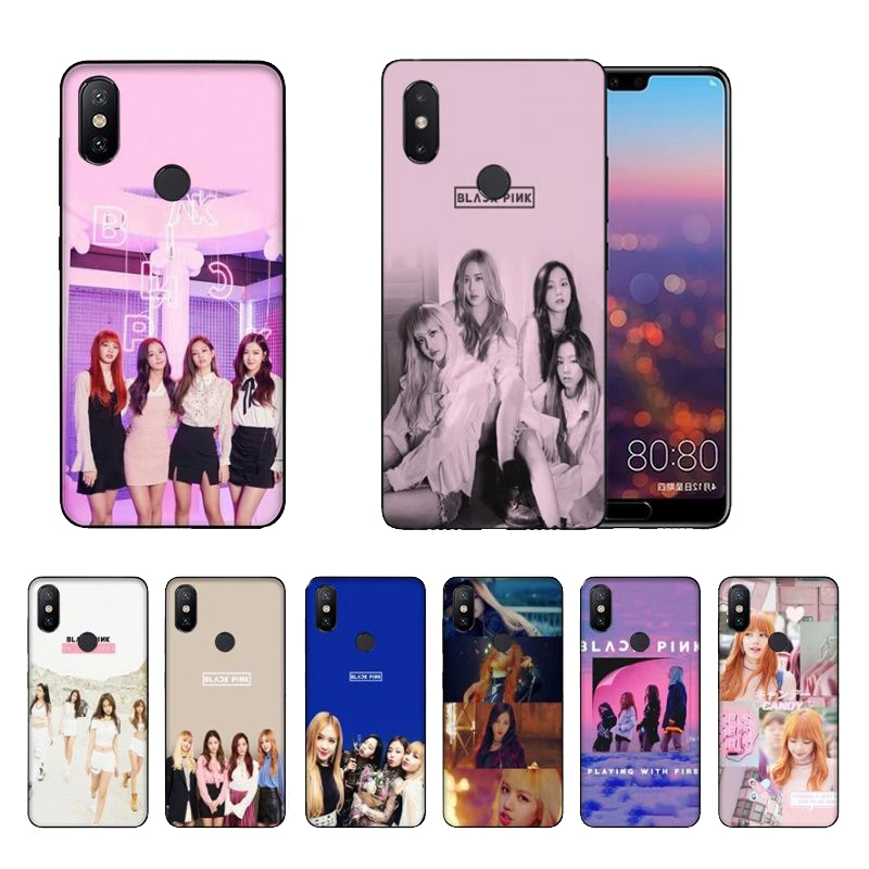 0a417fb759 Smart Shell Black Pink Coque Soft TPU phone case For Apple  iPhone,Oppo,Vivo,Huawei,Redmi,samsung