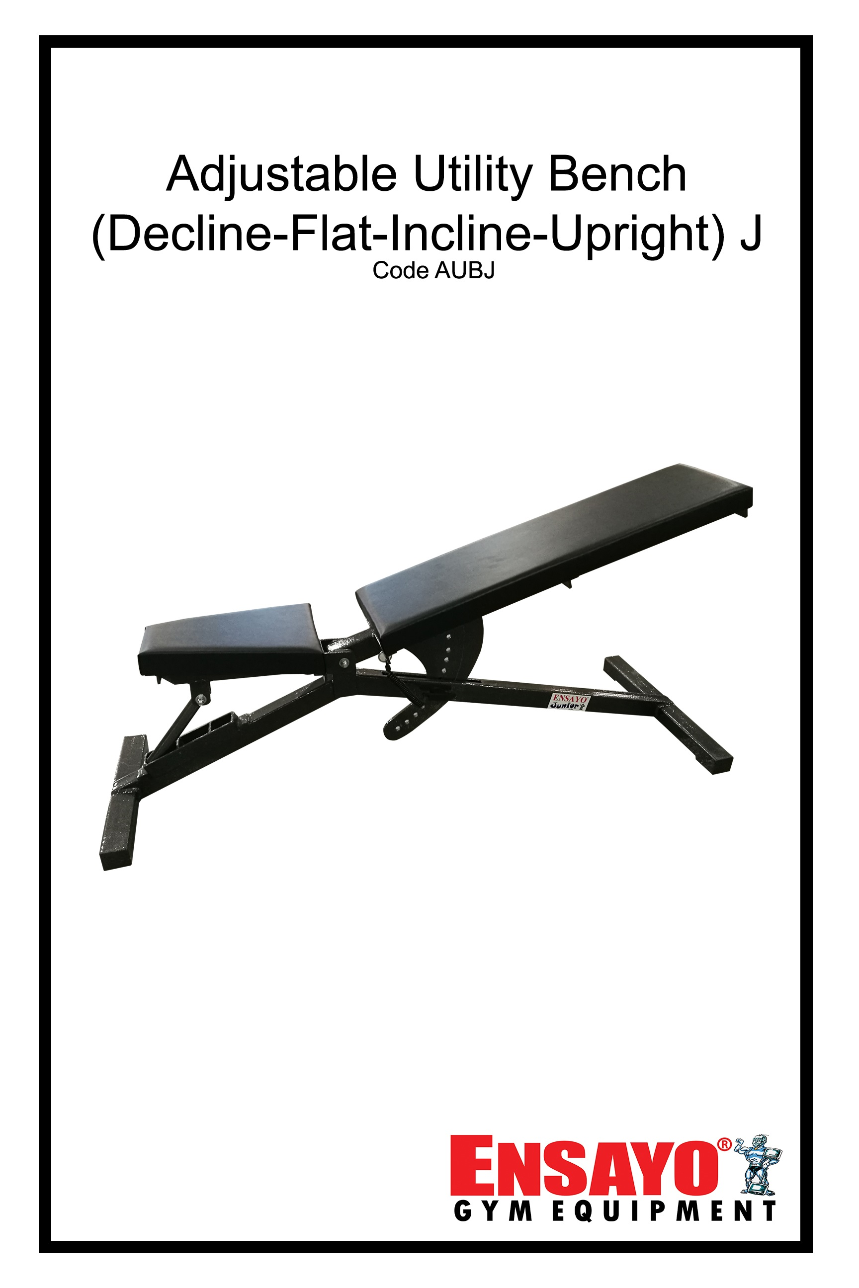 Fabulous Ensayo Adjustable Utility Bench Junior Best Home Commercial Gym Use Exercise Workout Fitness Bodybuilding Strength Power Training High Quality Pdpeps Interior Chair Design Pdpepsorg