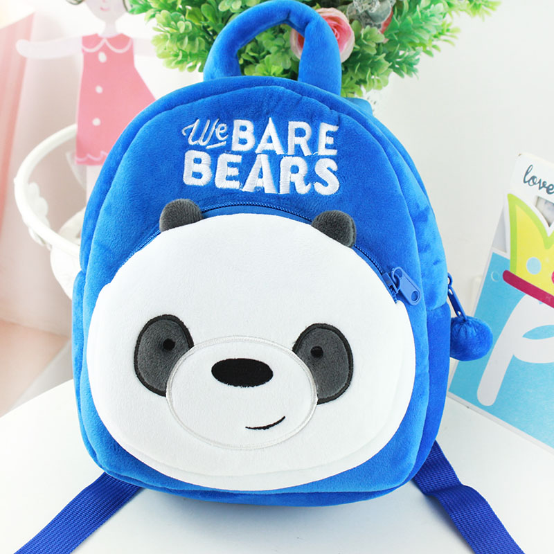 e17a3be39a8b00 Specifications of We Bare Bears Children's Collection Backpack (Ice Bear,  Grizzly Bear, Panda Bear)