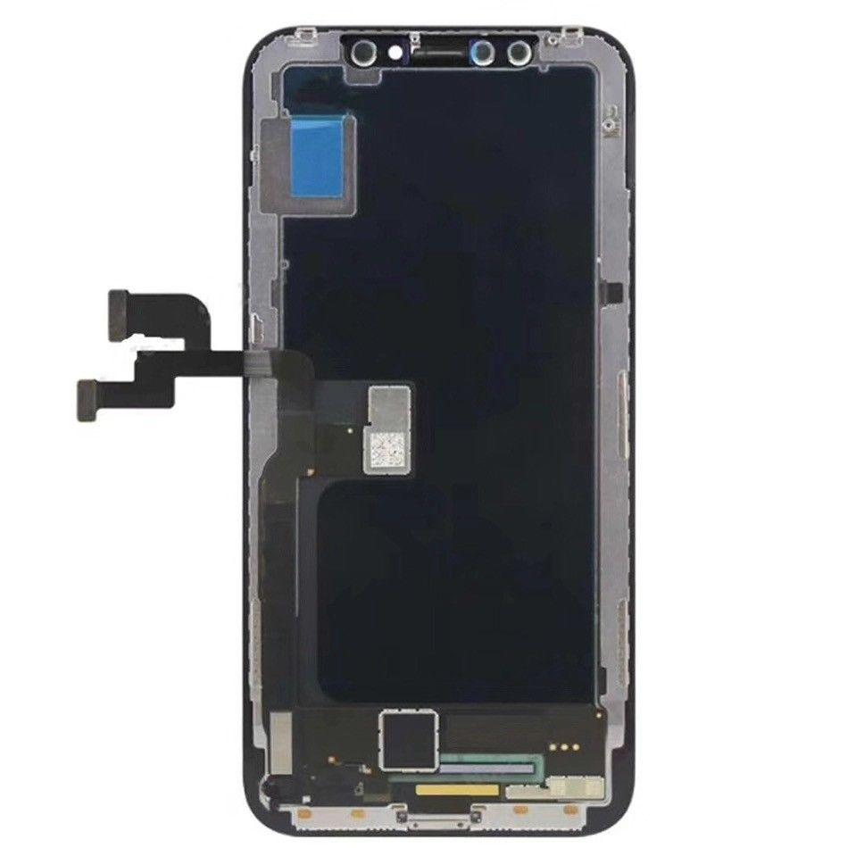on sale f3229 02af3 MK LCD For iPhone X LCD iPhone X OLED Screen Replacement Touch Digitizer  Replacement Frame Assembly Black for iPhone X A1865, A1901, A1902 one by  one ...