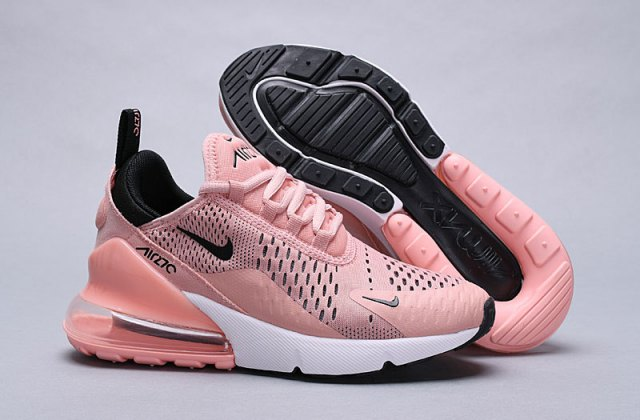 Advanced Nike Air Max 270 Flyknit Sepia Stone Women's Summer Running Shoes
