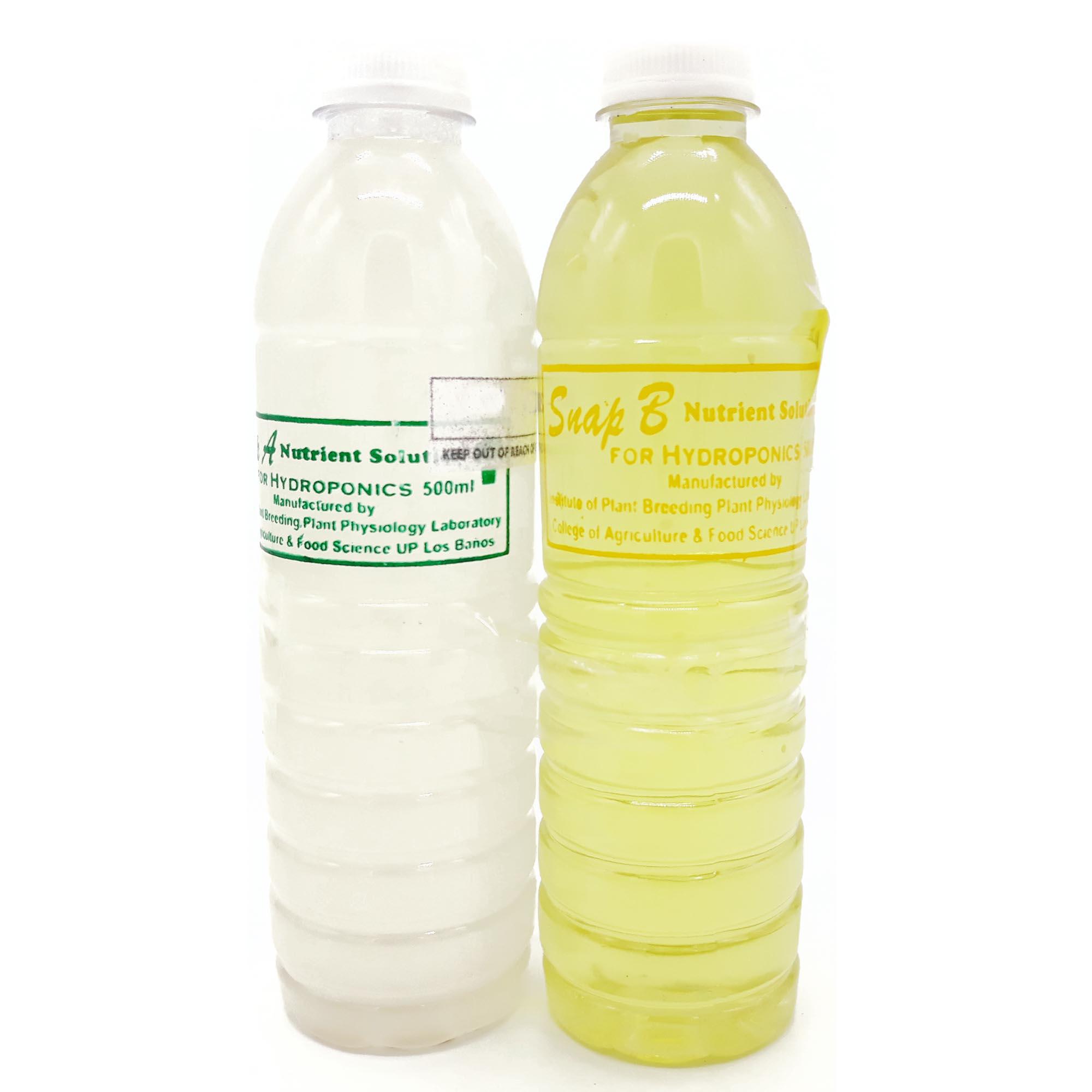 Snap Hydroponics Nutrient Solution 500ml Set Fertilizer