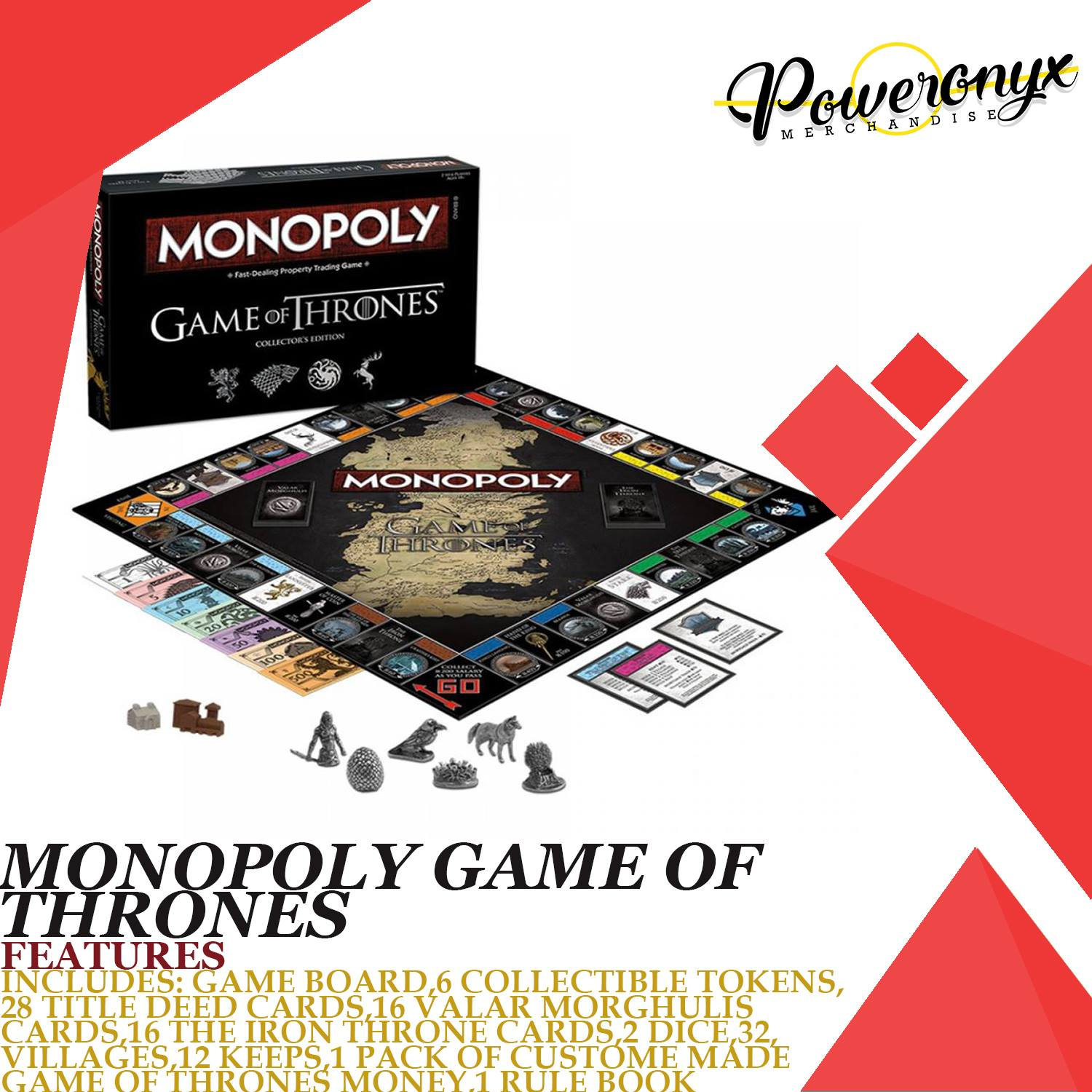 Monopoly Game Of Thrones Buy Sell Online Board Games With Cheap Price Lazada Ph