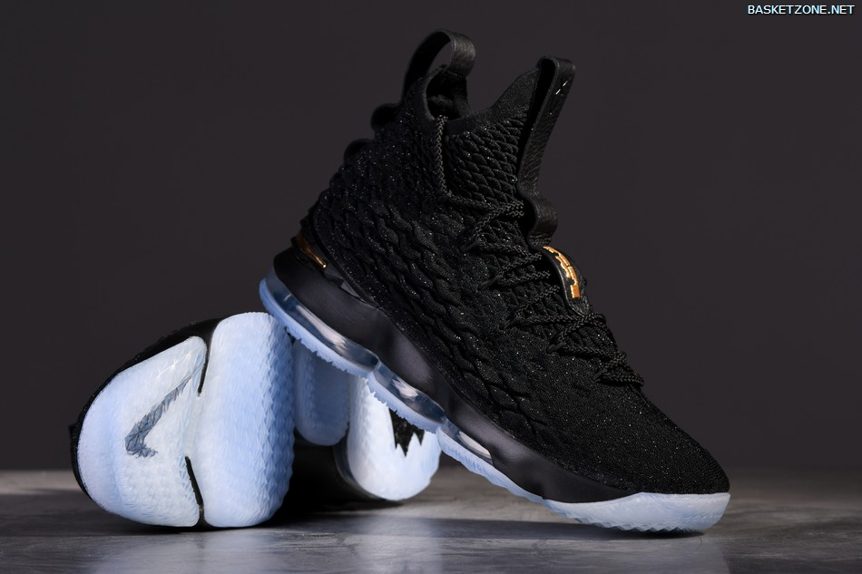 promo code 60cf7 56408 Nike LeBron 15 Lakers Official LeBron James LeBron XV LeBron 15 EP Mid Top  LBJ MEN Basketaball Shoe Global Sales Breathable sneaker wear-resistant ...