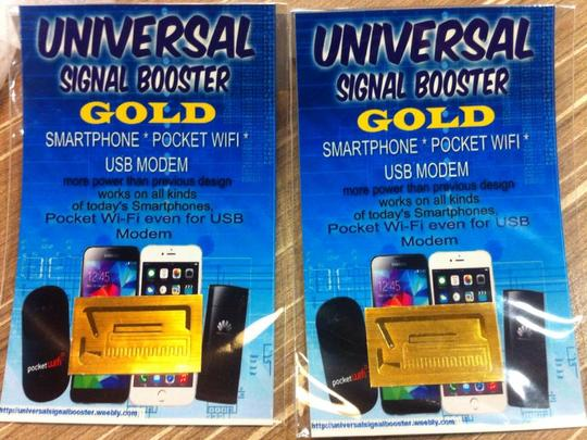 Cellphone Signal Enhancer for iPhone Android phone Pocket WiFi