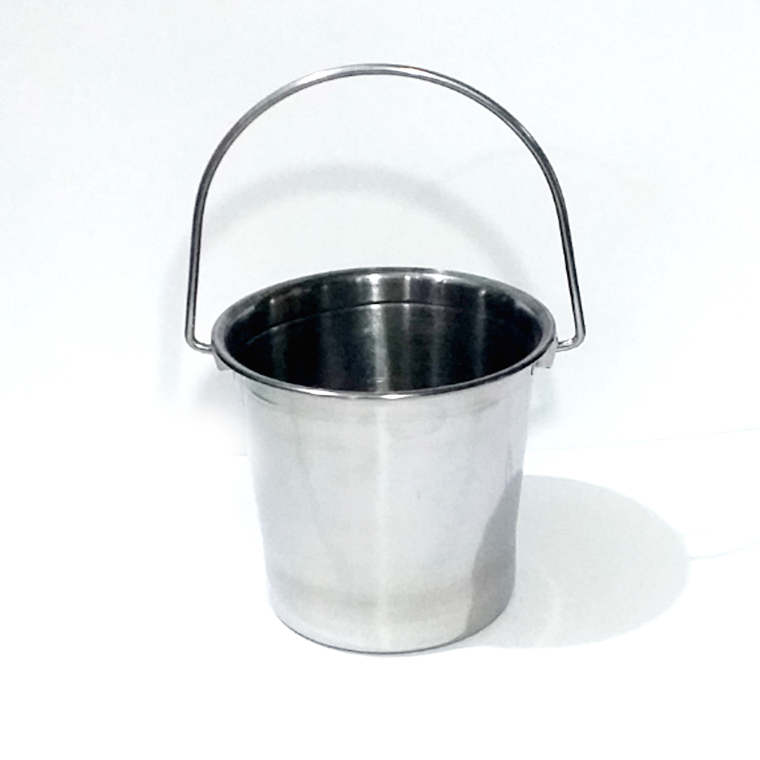 13cm Mini Ice Bucket Stainless Steel Ice Basket N Vj S Store Lazada Ph