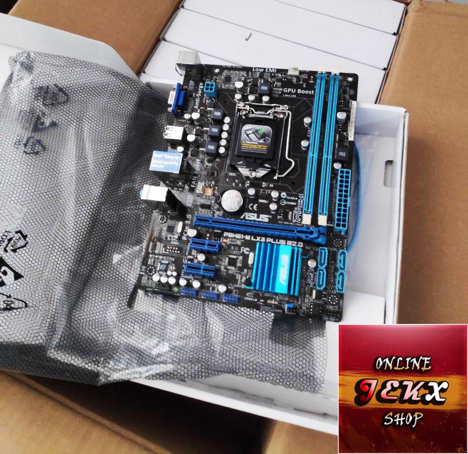 Asus Motherboards 100% ORIGINAL P8h61-m Lx3 Plus R2 0 / Socket Lga 1155 I3  I5 I7 [2GEN 3GEN] / Dual-Channel Support Ram DDR3 16gb