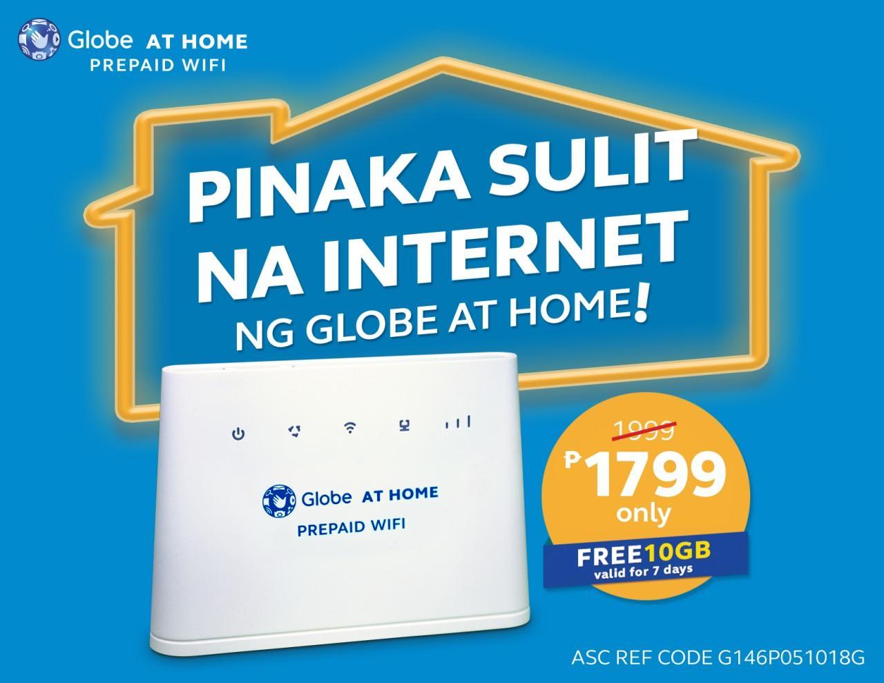 Set 2 Globe At Home Prepaid Wifi