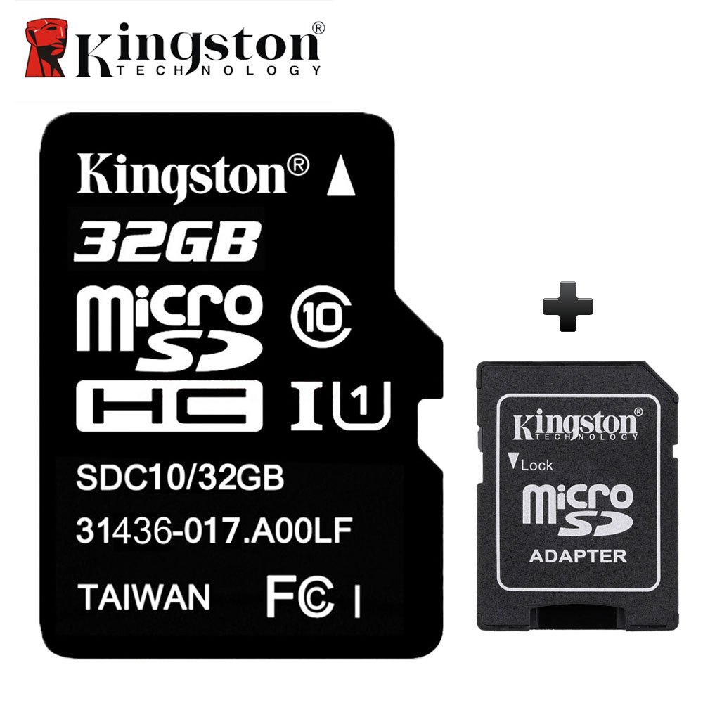 Mini Sd Karte 32gb.Kingston Memory Card 32gb Class10 Flash Sd Tf Card With Sd Adapter Free Led Watch Black