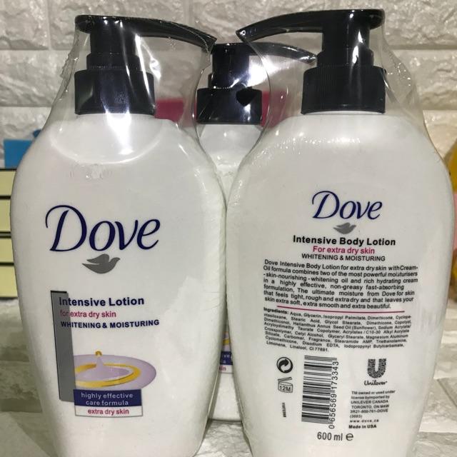 Dove Whitening Body Lotion 600ml Lazada Ph