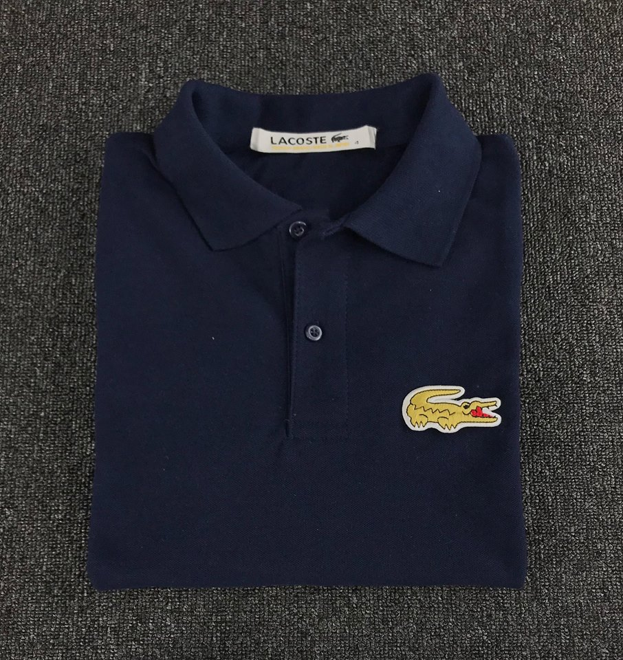db0c8ff2 Product details of Lacoste Polo Shirt Big Logo (GOLD)
