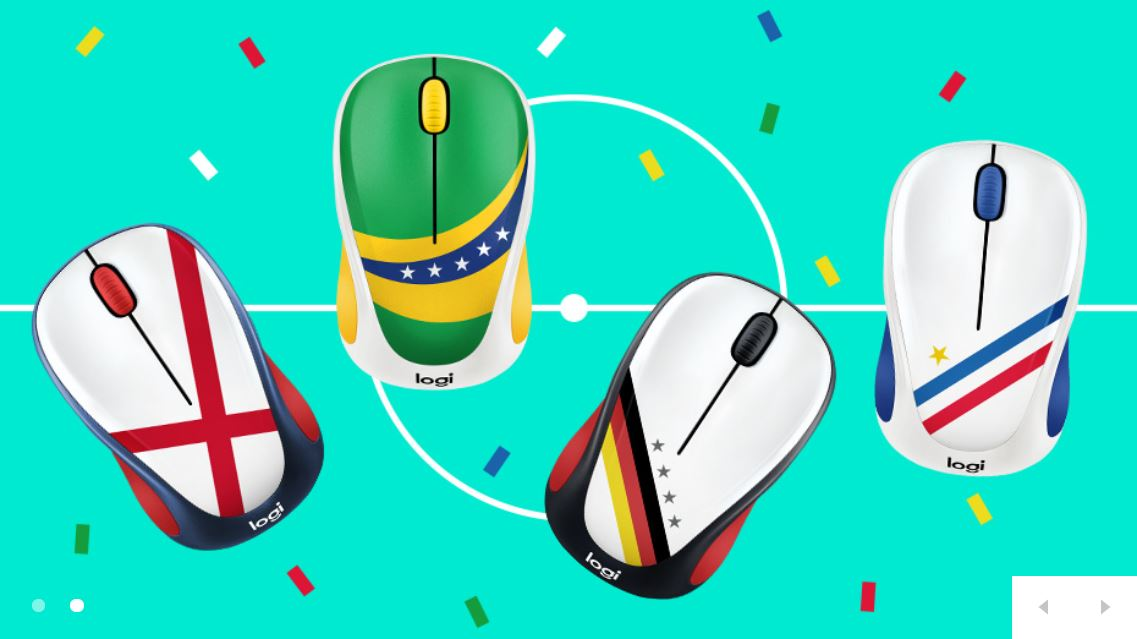 fdbe7c20e5e ... team from your desk with a Fan Collection mouse designed to match your  facepaint. The small, portable, and super responsive mice are completely  wireless ...